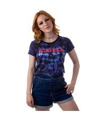 camiseta cropped feminina overfame tie dye collage md40