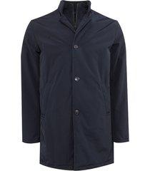 adam est 1916 adam jacket half lang blauw