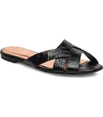 zelania shoes summer shoes flat sandals svart ted baker