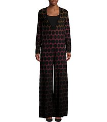 embroidery pull-on jumpsuit