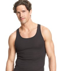 alfani men's underwear, tagless tank top 4 pack