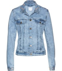 giacca di jeans ricamata (blu) - bpc selection premium