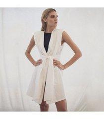 kimono blanco para mujer olivia