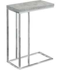 monarch specialties end table/snack table