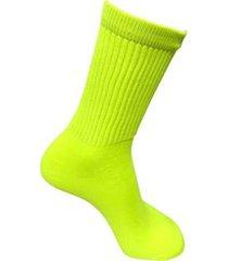 meia compressão leve dh socks ciclista bike pedal cano alto - unissex