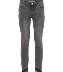 jeans skinny con orlo grezzo (nero) - rainbow