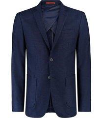 paleto vr tweed azul - azul - masculino - dafiti