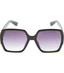 gafas lente degrade color negro, talla uni