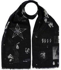 paul smith scarf with logo