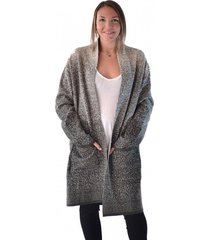 abrigo lana verde alexandra cid