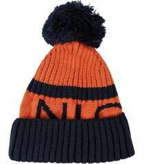 mens footy wooly hat