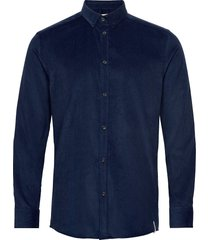 akkonrad corduroy shirt skjorta casual blå anerkjendt