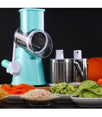mano operado multi - funcional de picador de verduras queso máquina rebanadora