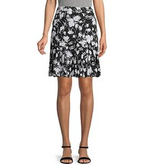 floral soft skirt