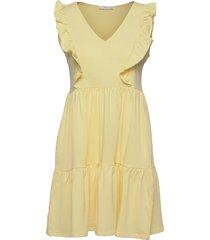 carile kort klänning gul mango
