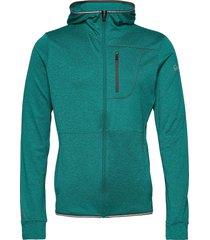 puijo m hoodie jacket sweat-shirts & hoodies fleeces & midlayers grön halti
