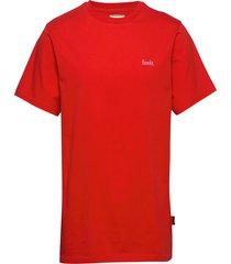 air t-shirt t-shirts short-sleeved röd forét
