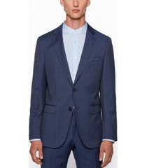 boss men's novan6/ben2 pinstripe slim-fit suit