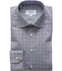 contemporary-fit plaid dress shirt