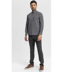 overhemd lange mouw boris becker antonia micro patterned shirt