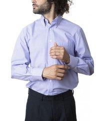 camisa premium cuadrillé lila kotting