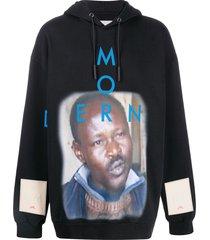 a-cold-wall* modern sweat hoodie - black
