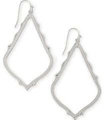 kendra scott detailed drop earrings