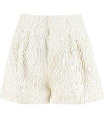 rotate by birger christensen janis high waist shorts