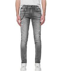 antony morato iggy tapered jeans grey steel washes 9001 denim