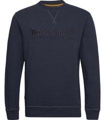 est1973 crew sweats sweat-shirt tröja blå timberland