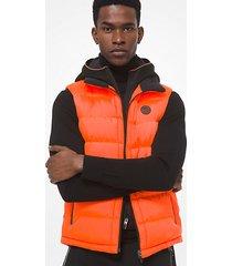 mk gilet trapuntato - arancio safety (arancio) - michael kors