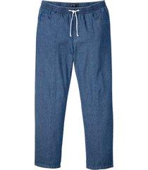 pantaloni con elastico in vita classic fit tapered (blu) - bpc bonprix collection