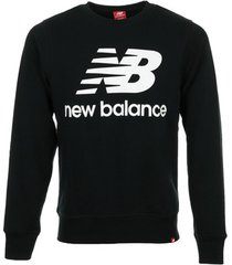 sweater new balance essentials stacked logo crew