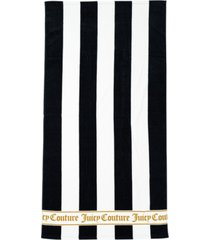 "juicy couture cabana stripe beach towel, 36"" x 68"" bedding"