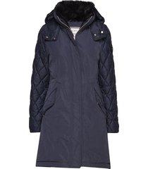 coat not wool gevoerd jack blauw gerry weber edition