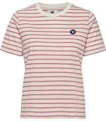 mia t-shirt t-shirts & tops short-sleeved roze wood wood