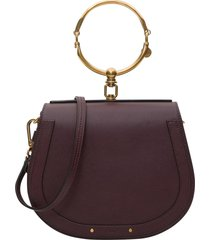 chloé crossbody bag with medium nile bracelet