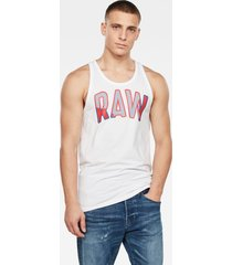 multi layer raw gr tanktop