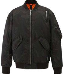 104126-363 | bomber camo jacket | camo green - l
