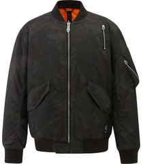 104126-363 | bomber camo jacket | camo green - m
