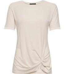 blouse t-shirts & tops short-sleeved crème ilse jacobsen