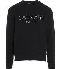 balmain 3d effect sweatshirt