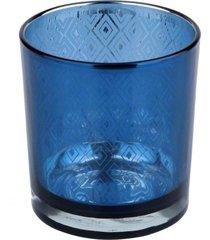 castical vidro urban home azul indigo - tricae