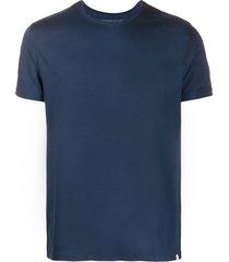 derek rose basel modal round-neck t-shirt - blue