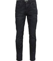 neal slimmade jeans blå bruun & stengade