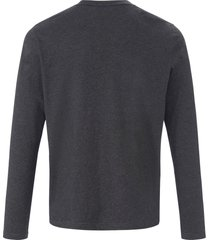 t-shirt 100% katoen van gant grijs