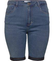 caraugusta hw sk long shorts mbd shorts denim shorts blå only carmakoma