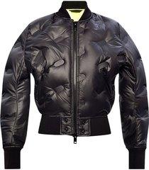 bomber down jacket
