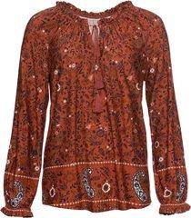 maglia a maniche lunghe (marrone) - rainbow