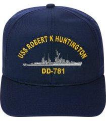 uss robert k huntington dd-781   ball cap ..new..ship hat
